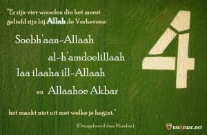 4 Woorden