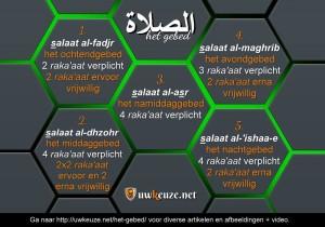 De 5 gebeden
