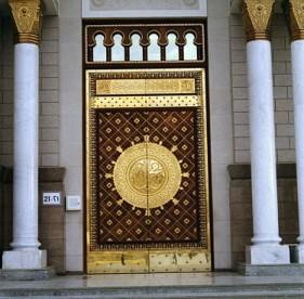 Deur moskee