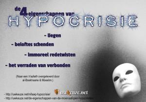 Hypocrisie eigenschappen