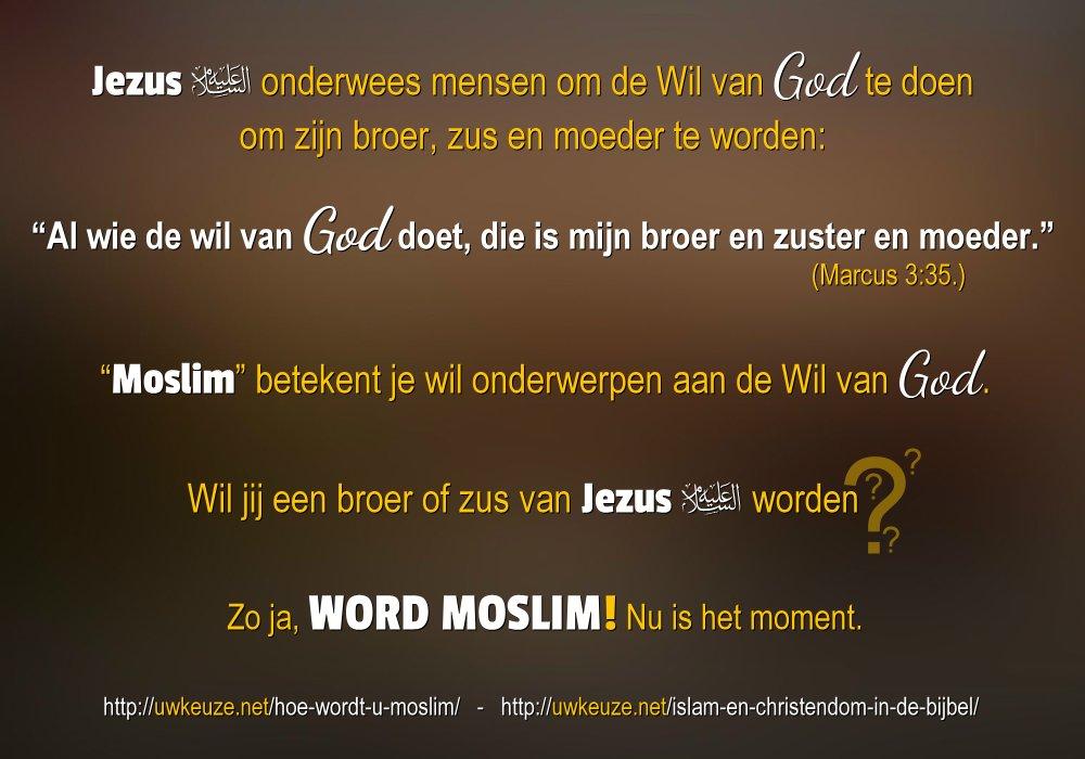 Beroemd Islam en Christendom in de Bijbel | uwkeuze.net &PC63