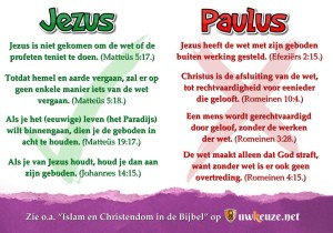 Jezus of Paulus