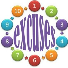 10 excuses