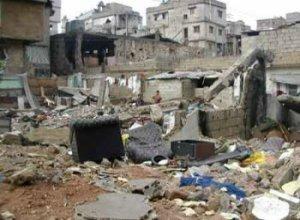 een Palestijns vluchtelingenkamp