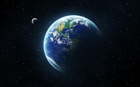 De aarde, onze planeet.