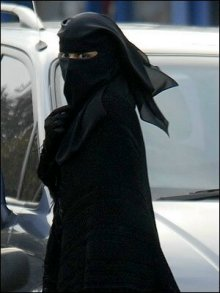 Moslimah niqaab
