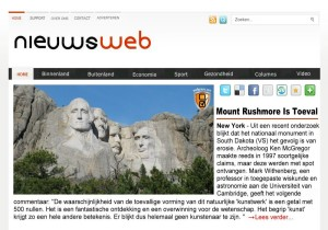Is Mount Rushmore toeval?
