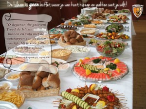 Islam is geen buffet