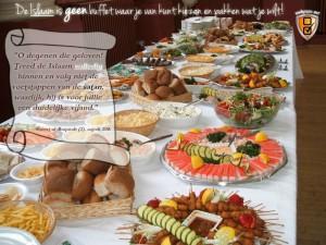 Islam is geen buffet