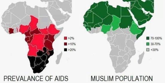 """""""Interessante statistieken die duidelijk een argument ondersteunen die ik gebruikt heb in lezingen ter verdediging van de sterke houding van de Islaam tegen seks buiten het huwelijk. De beste preventie van HIV (AIDS) is seks alleen binnen een huwelijk en geen seks voor degenen die niet getrouwd zijn."""" (Dr. Bilal Philips.)"""