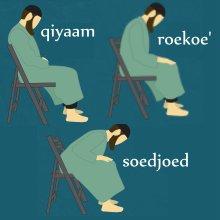 Zittend bidden kl