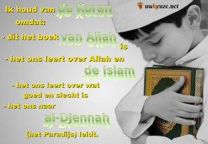 Jongen met Koran