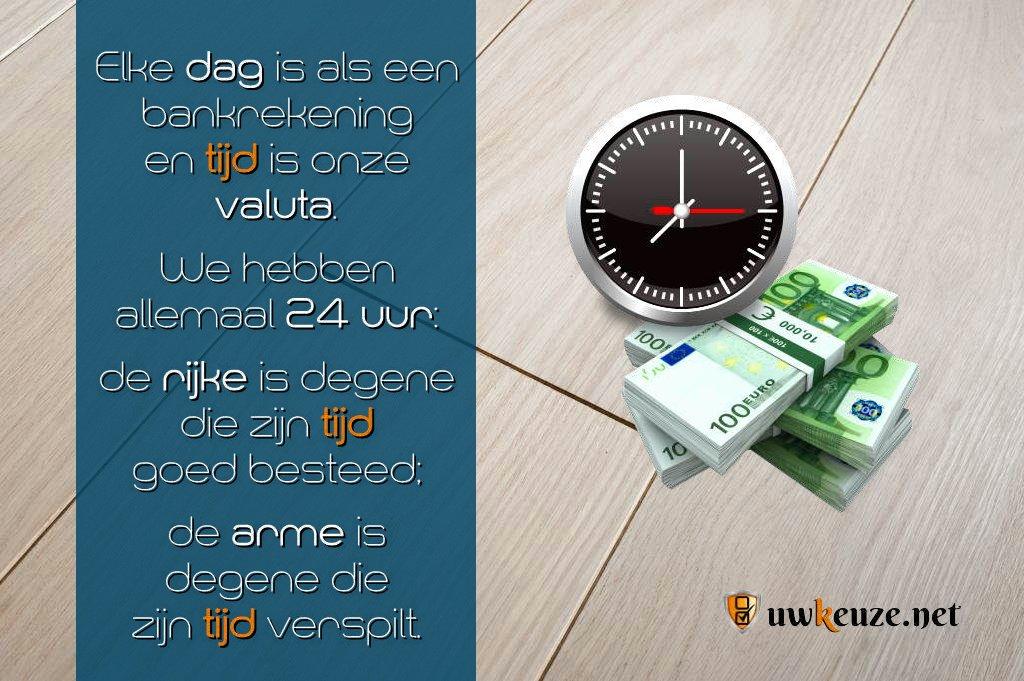 Tijd valuta
