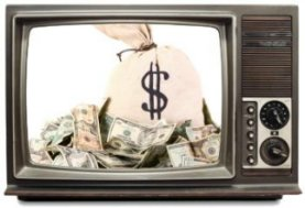 Geld in tv