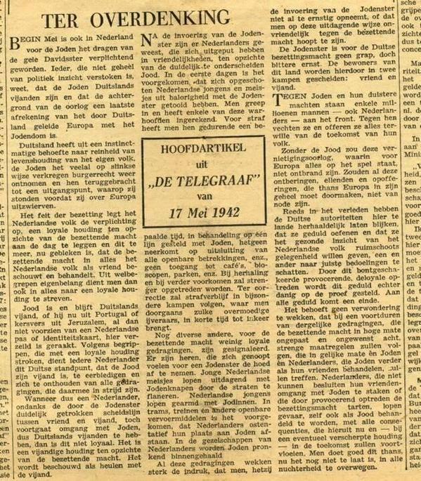 Telegraaf joden