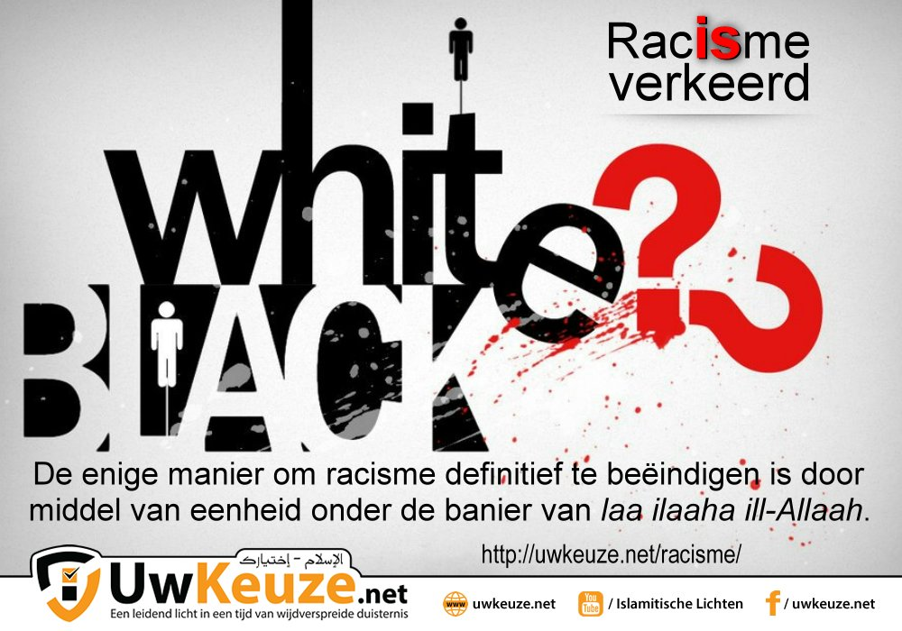 Racisme | uwkeuze.net