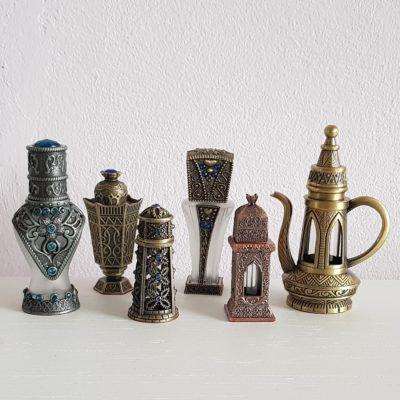 Parfumflesjes Arabische stijl